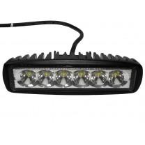 Reflektor LED listwa 6*3W